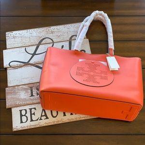 Tory Burch Logo Tote-Handbag